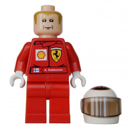 MINIFIGURE Nitro Racer Driver RAC007 RACERS LEGO