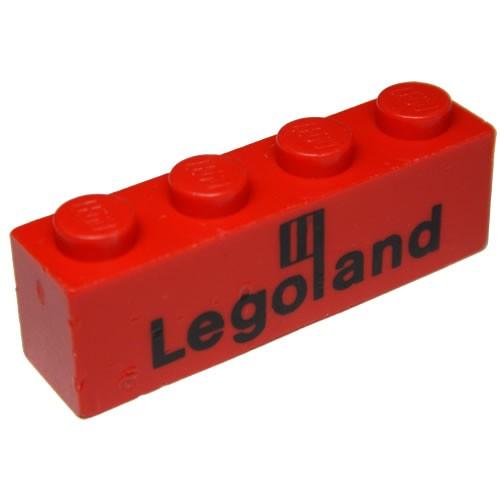 Lego 3010pb35 Brick 1x4 and 3009p01 Brick 1 x 6 Retail