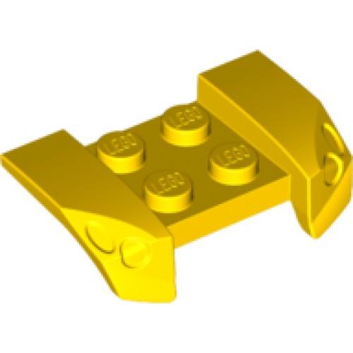 Lego Vehicle Mudguard 2x4 Headlights Overhang 44674 Choose Color /& Quantity